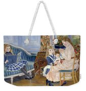 Children's Afternoon At Wargemont Weekender Tote Bag