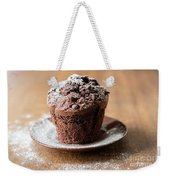 Chocolate Muffin With Powdered Sugar Weekender Tote Bag