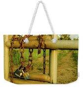 Padlocks And Chains Weekender Tote Bag