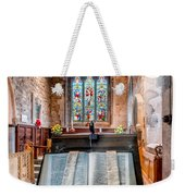 Church Interior Weekender Tote Bag