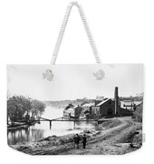 Civil War: Fall Of Richmond Weekender Tote Bag
