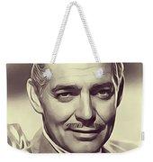 Clark Gable, Vintage Actor Weekender Tote Bag