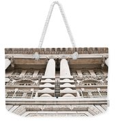Classic Architecture Weekender Tote Bag