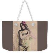 Cleo De Merode Weekender Tote Bag
