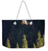 Climber Rescue Operation In Yosemite Weekender Tote Bag