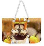 Clone Trooper Commander Weekender Tote Bag