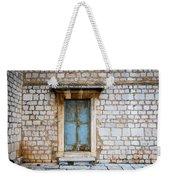 Closed Door Of An Old Chapel In Croatia Weekender Tote Bag