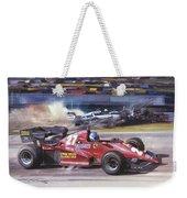 Cma 081 1983 San Marino Gp Imola Patrick Tambay In Ferrari Roy Rob Weekender Tote Bag
