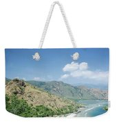 Coast And Beach View Near Dili In East Timor Leste Weekender Tote Bag
