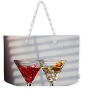 Cocktails At The Bar Weekender Tote Bag