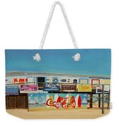 Cocoa Beach/cape Canaveral Pier Weekender Tote Bag