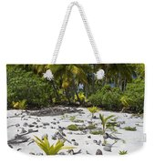 Coconut Palms On A Polynesian Beach Weekender Tote Bag