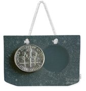 Coin Containing Silver Inhibits Weekender Tote Bag