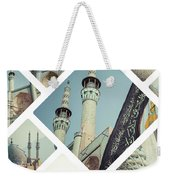 Collage Of Iran Images Weekender Tote Bag