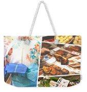 Collage Of Japan Food Images Weekender Tote Bag