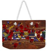 Colourful Abstract Painting Weekender Tote Bag