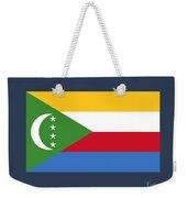 Comoros Flag Weekender Tote Bag
