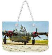 Consolidated B-24j Liberator Weekender Tote Bag
