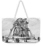 Corliss Steam Engine, 1876 Weekender Tote Bag