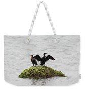 Cormorants Port Jefferson New York Weekender Tote Bag