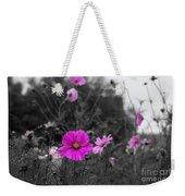 Cosmos Flower Weekender Tote Bag