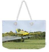 Crop Dusting Plane Weekender Tote Bag