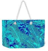Croton Series - Blue Weekender Tote Bag