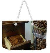 Daily Grind Coffee Beans Weekender Tote Bag