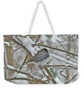 Dark-eyed Junco - Snowbird Weekender Tote Bag