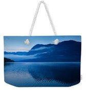 Dawn At Lake Bohinj In Slovenia Weekender Tote Bag