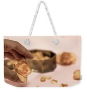 Dead Flower Petals With A Gift, Begonia Weekender Tote Bag