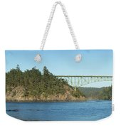 Deception Pass Weekender Tote Bag