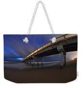 Deerfield Beach, Florida Pier Weekender Tote Bag