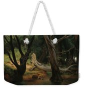 Departure For The Hunt In The Pontine Marshes Weekender Tote Bag