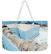 Derelict Swimming Pool Weekender Tote Bag