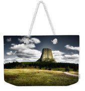 Devil's Tower - Wyoming Weekender Tote Bag
