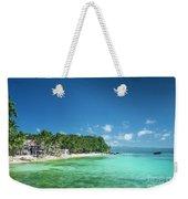 Diniwid Beach In Tropical Paradise Boracay Philippines Weekender Tote Bag