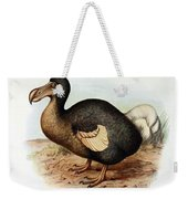 Dodo Bird Raphus Cucullatus, Extinct Weekender Tote Bag
