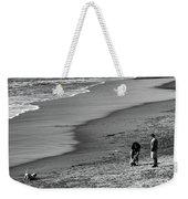 2 Dogs 2 Men Beach  Weekender Tote Bag