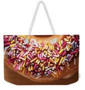 Donut And Sprinkles Weekender Tote Bag