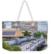 Downtown Waterloo Iowa Weekender Tote Bag