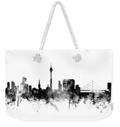 Dusseldorf Germany Skyline Weekender Tote Bag
