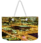 Early Morning Sunrise Over Valley Of Fire And Las Vegas Weekender Tote Bag
