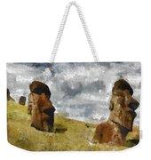 Easter Island Weekender Tote Bag