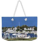 Edgartown Harbor Weekender Tote Bag