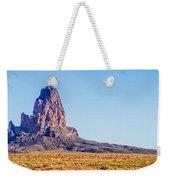 El Capitan Peak Just North Of Kayenta Arizona In Monument Valley Weekender Tote Bag