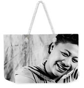 Ella Fitzgerald (1917-1996) Weekender Tote Bag by Granger