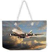 Emirates Airbus A380 Weekender Tote Bag