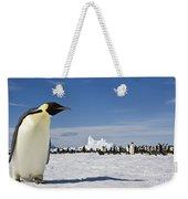 Emperor Penguin Weekender Tote Bag