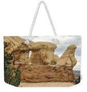 Entrada Sandstone Hoodoos Devil's Garden Weekender Tote Bag